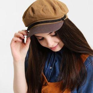 4f66a1f210e Epoch Accessories - Copper and Brown Fiddler Cap